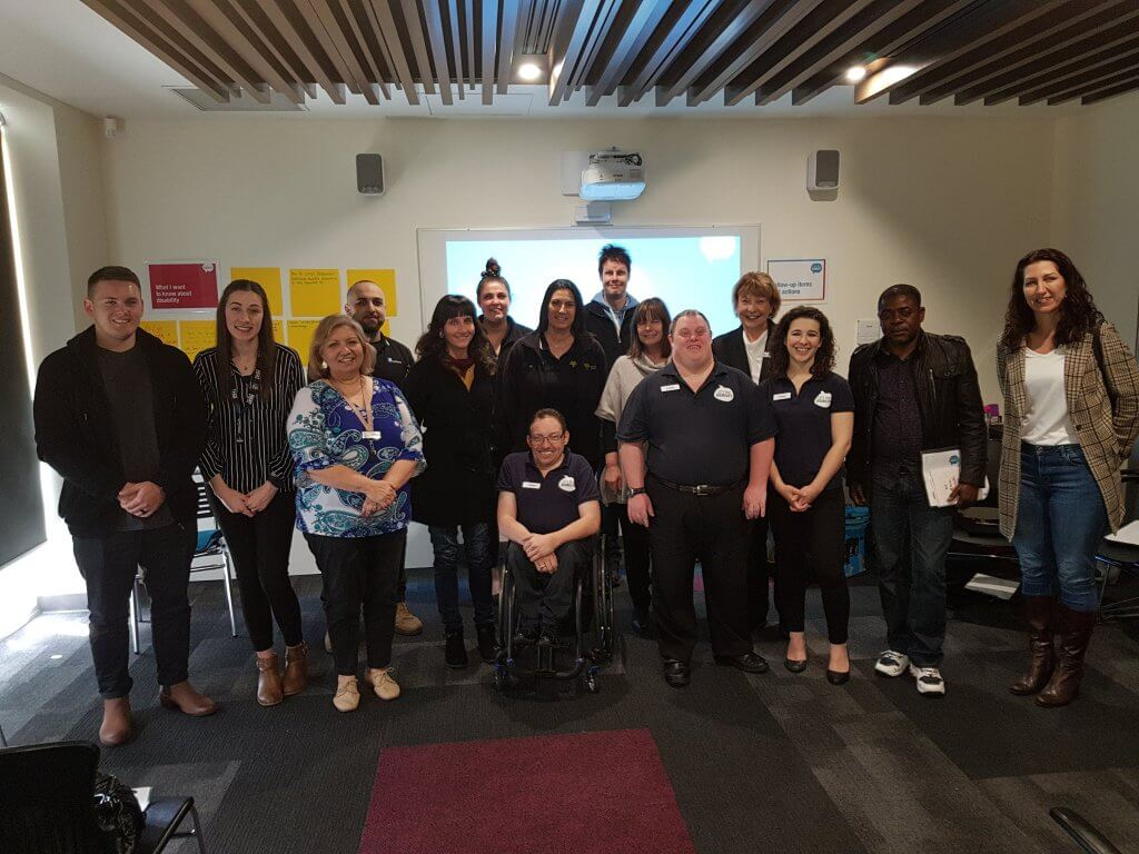 City of Playford employees learnt about talking and interacting with people with disability